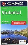 KOMPASS Wanderführer Stubaital: Wanderführer mit Extra-Tourenkarte 1:25.000, 55 Touren, GPX-Daten zum Download