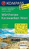 KOMPASS Wanderkarte Wörthersee, Karawanken West: Wanderkarte mit Aktiv Guide, Panorama, Radwegen, Skitouren und Loipen. GSP-genau. 1:50000: Wandelkaart 1:50 000 (KOMPASS-Wanderkarten, Band 61)