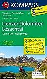 Lienzer Dolomiten - Lesachtal - Karnischer Höhenweg: Wanderkarte mit Aktiv Guide, alpinen Skirouten und Radrouten. GPS-genau. 1:50000: Wanderkarte mit ... / Wetterfest (KOMPASS-Wanderkarten, Band 47)