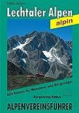 Lechtaler Alpen: Alpenvereinsführer alpin