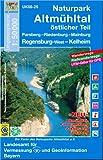 Naturpark Altmühltal östlicher Teil 1 : 50 000: Parsberg, Riedenburg, Mainburg, Regensburg-West, Kelkheim. Altmühl-Panoramaweg, Jakobsweg, Juraweg (UK ... Karte Freizeitkarte Wanderkarte)