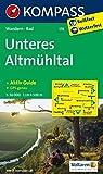 Unteres Altmühltal: Wanderkarte mit Kurzführer und Radwegen. GPS-genau. 1:50000: Wandelkaart 1:50 000 (KOMPASS-Wanderkarten, Band 178)