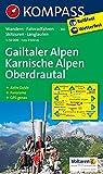 Gailtaler Alpen - Karnische Alpen - Oberdrautal: Wanderkarte mit Aktiv Guide, Radwegen, Skitouren, Loipen und Panorama. GPS-genau. 1:50000: Wandelkaart 1:50 000 (KOMPASS-Wanderkarten, Band 60)