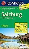 KOMPASS Wanderkarte Salzburg und Umgebung: Wanderkarte mit Aktiv Guide und Radwegen. GPS-genau. 1:25000: Wandelkaart 1:25 000 (KOMPASS-Wanderkarten, Band 17)